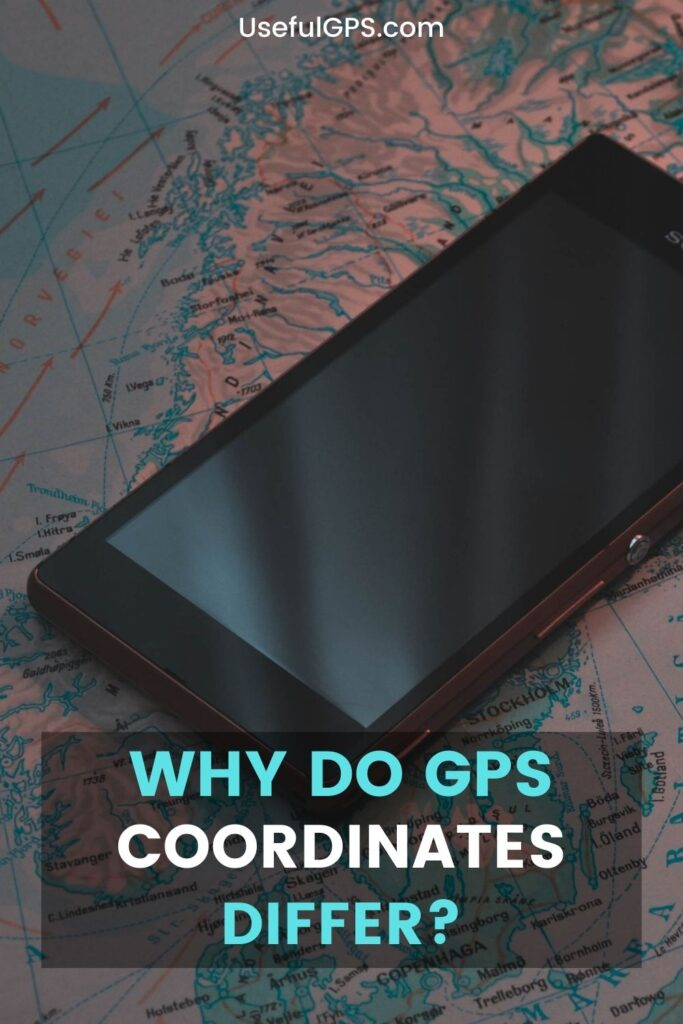 GPS Coordinates Difference