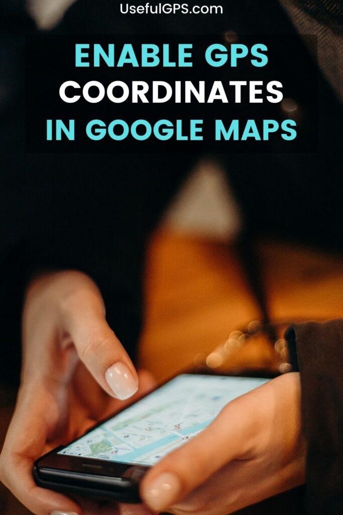 Google Maps GPS Coordinates
